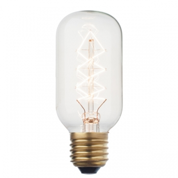 Deco tube light bulb | Radio style | Zig zag filament
