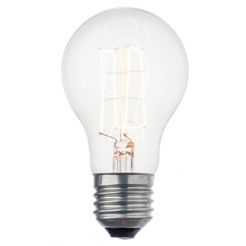 Decorative antique light bulb • Square filament