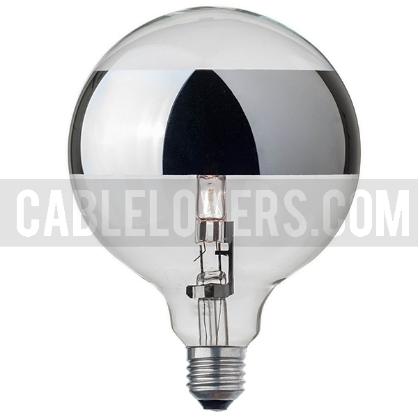large globe light bulb g125 ring mirror cablelovers