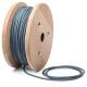 Опушено син кабелен шнур с текстилна оплетка
