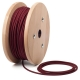 Bordeaux round textile cable