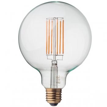 LED Filament Light Bulb • Globe G125 • Dimmable