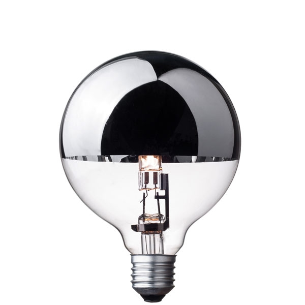 Halogen Light Bulb G95 Silver Crown Cablelovers