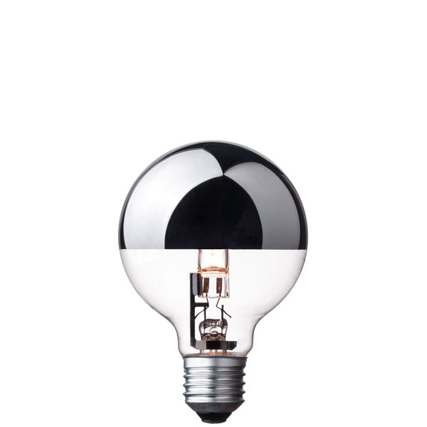 Halogen Light Bulb G80 Silver Crown Cablelovers