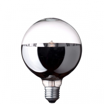G95 Globe halogen light bulb • Bottom mirror