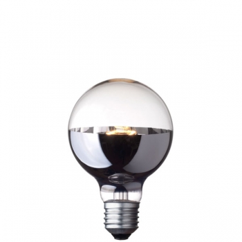 G80 Globe halogen light bulb • Bottom mirror