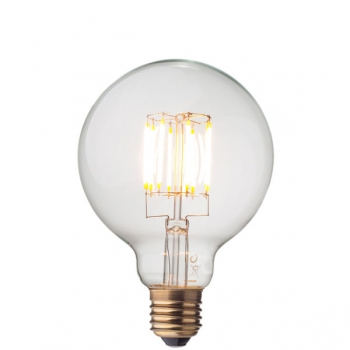 LED Filament Light Bulb • Globe G95 • Dimmable