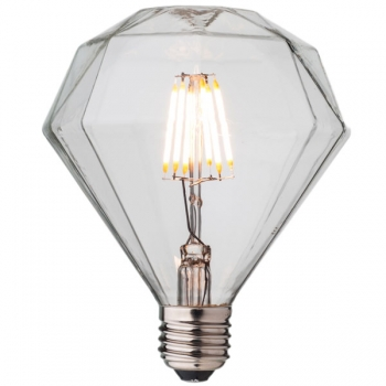Diamond LED Filament Light Bulb Е27 • Dimmable