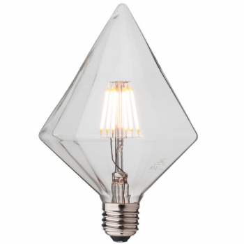 Sharp Diamond LED Filament Light Bulb Е27 • Dimmable