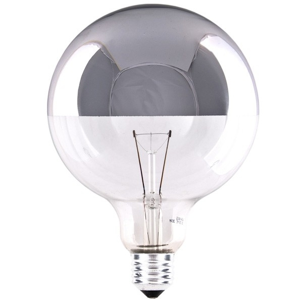 Globe Light Bulb G125 G80 Top Mirror Cablelovers