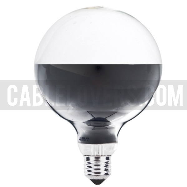 Halogen Globe Bulb G125 Bottom Mirror Cablelovers