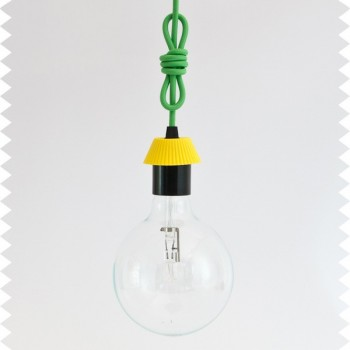 Cool Knot - hanging lamp with cable of your choice