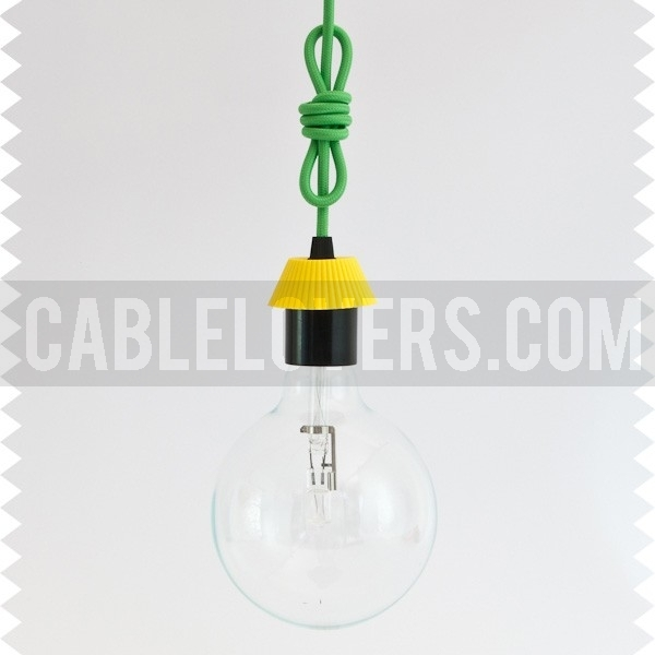 cool knot hanging lamp with cable of your choice cablelovers rh cablelovers com 3-Way Lamp Socket Wiring Wiring a Lamp Fixture