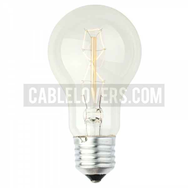 Decorative Rustic Glow Filament Light Bulb Cablelovers