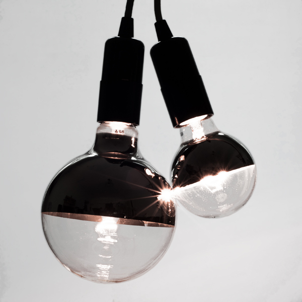 New Bottom Mirror Globe Light Bulbs - Cablelovers.com