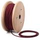 Бордо кабелен шнур с текстилна оплетка