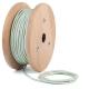 Зелен нефрит кабелен шнур с текстилна оплетка