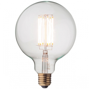 LED Filament Light Bulb • Globe G125 • Dimmable