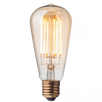 Edison LED Filament Light Bulb • Dimmable