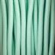Пастелен бебешко зелен кабелен шнур с текстилна оплетка