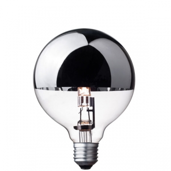 G95 Globe halogen light bulb • Top mirror