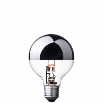 G80 Globe halogen light bulb • Top mirror