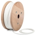 White round textile cable