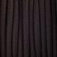 Тъмно кафяв памучен кабелен шнур с текстилна оплетка