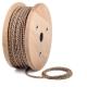 Confetti pattern round textile cable