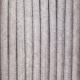 Concrete grey cotton round textile cable