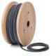 Graphite grey cotton round textile cable