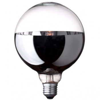 G125 Globe halogen light bulb • Bottom mirror