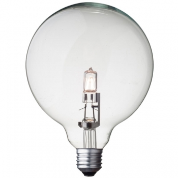 G125 Globe halogen light bulb