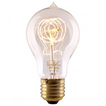 Quad Loop Filament Bulb antique Edisson replica